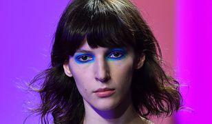 Modelka pokazie marki Sies Marjan w Nowym Jorku