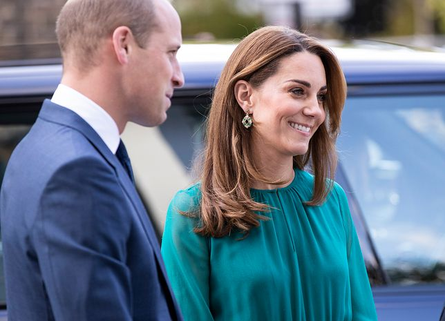 Kate Middleton i książę WIlliam w Aga Khan Centre