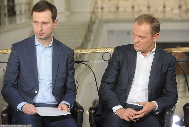 Władysław Kosiniak-Kamysz i Donald Tusk