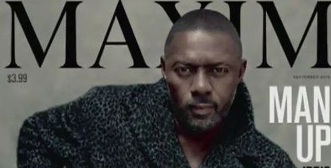 """Idris Elba pierwszym mężczyzną na okładce """"Maxima"""""""