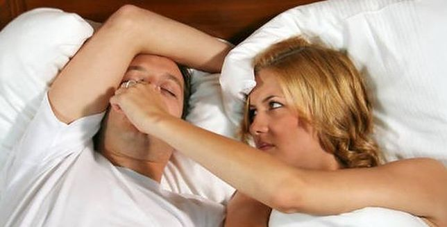 Chrapanie to objaw nieprawidłowego oddychania