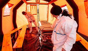 Koronawirus w Polsce. Test gotowości mobilnych izb przyjęć