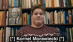 """Wnuk Kornela Morawieckiego wspomina go na Dzień Dziadka. """"Niewątpliwie jesteś legendą"""""""