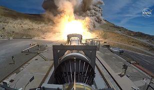 NASA testuje rakietę SLS, która wyniesie astronautów na Księżyc