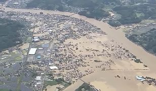 Powodzie w Japonii. Rośnie liczba ofiar śmiertelnych