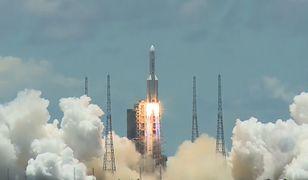 Chiny lecą na Marsa z historyczną misją Tianwen-1. Udany start rakiety Long March 5