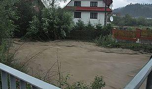 Podtopione domy, zalane ulice