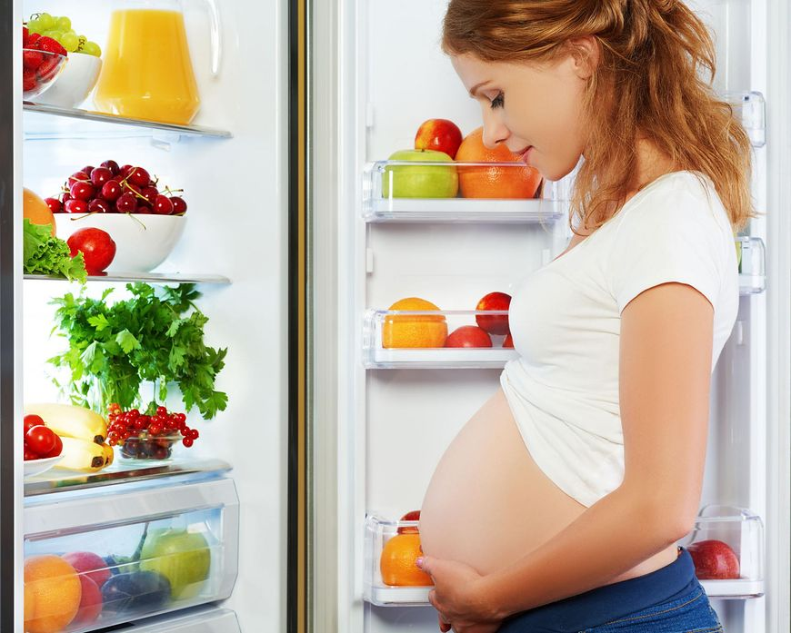 Jedzenie mięsa w ciąży