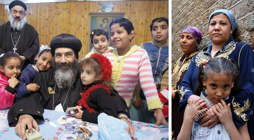 Koptyjskie dzieci