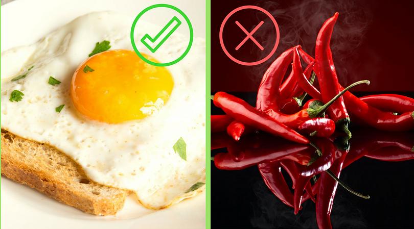 Jajka i pikantne posiłki na śniadanie