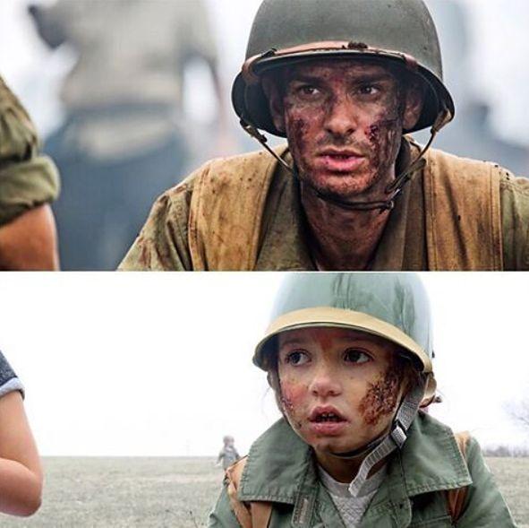 """Scena z filmu """"Przełęcz ocalonych"""" była trudna do odegrania przez dzieci"""
