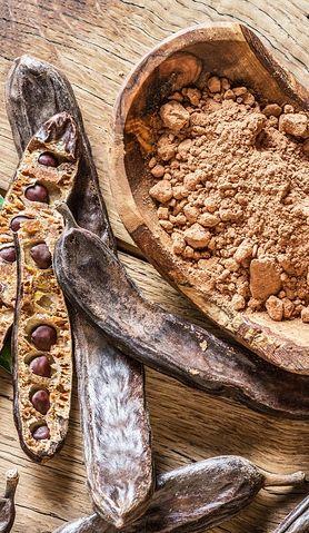 Karob - zdrowy zamiennik czekolady. Idealny na diecie