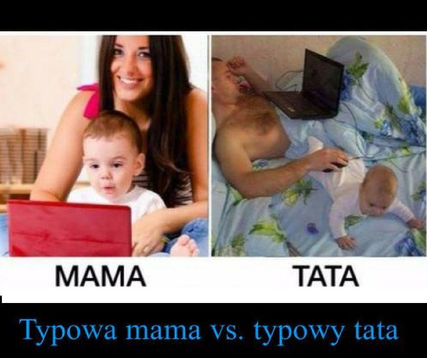 Mama vs Tata - to zrozumieją tylko rodzice