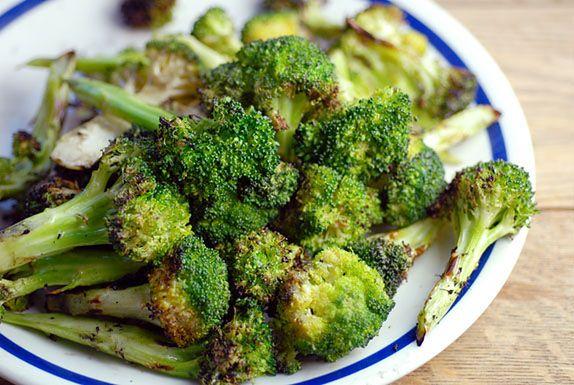 Brokuły z grilla