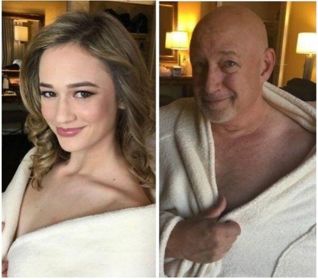 Tata trollujący swoją córkę