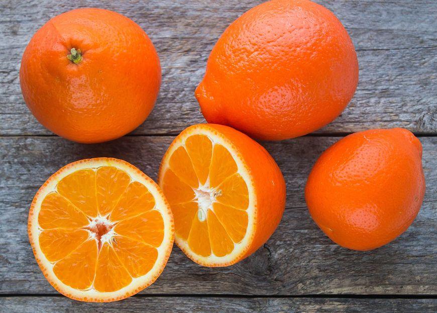 Mieszaniec grejpfruta i mandarynki