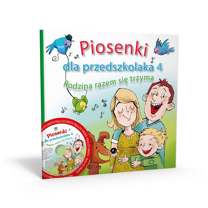 Okładka książki - Piosenki dla przedszkolaka 4