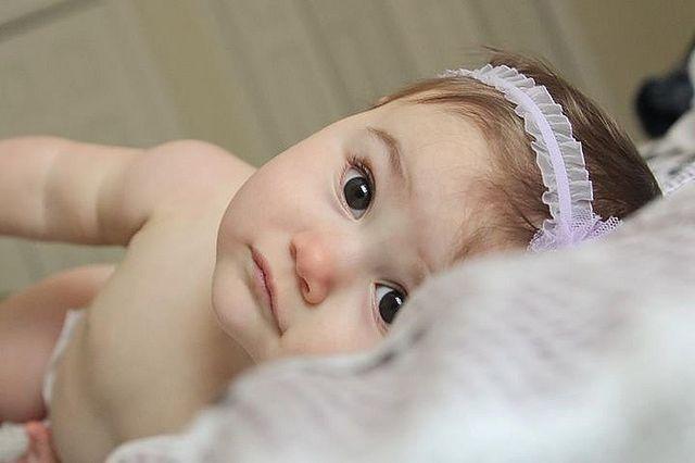 Delikatna skóra niemowlaka