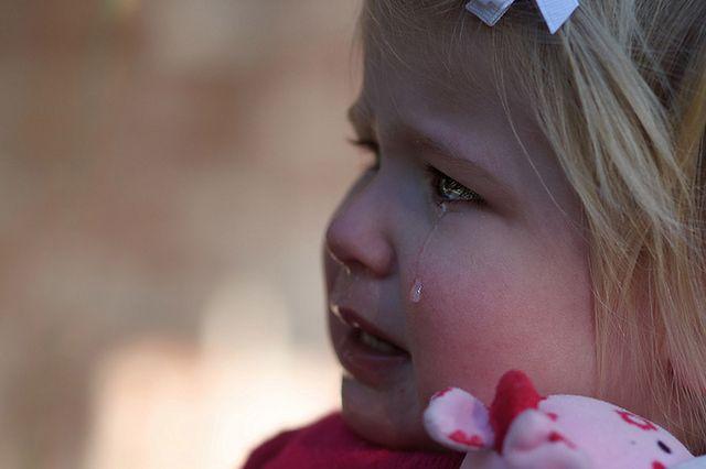 Płaczący maluch