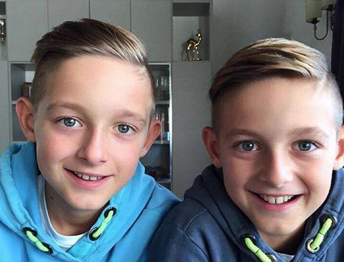 Luan i Noah, synowie Miroslava Klose