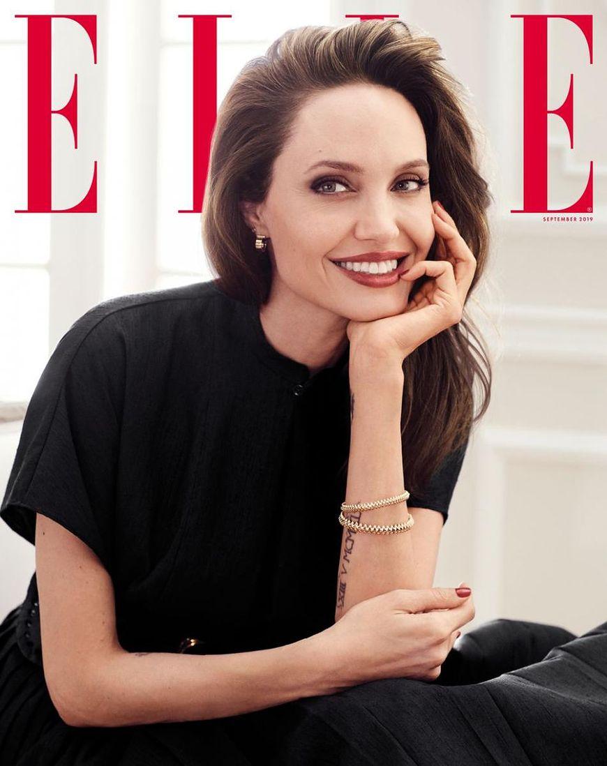 Angelina Jolie w ELLE