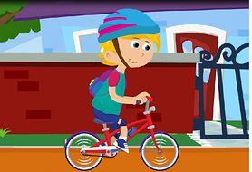 Wakacje z rowerem - bezpieczna jazda