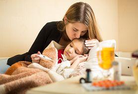 Przeziębienie jest jedną z najczestszych chorób dziecięcych