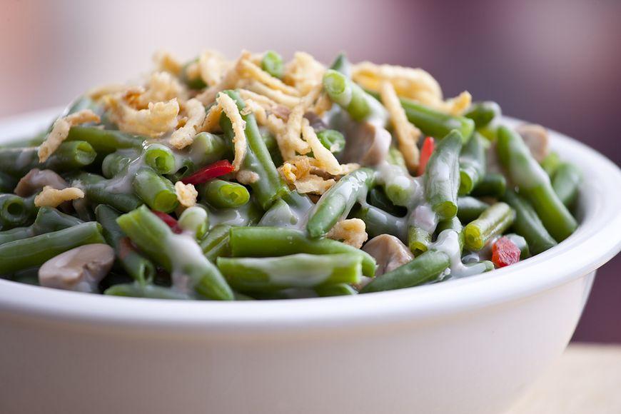 Cesserole z zielonej fasolki szparagowej