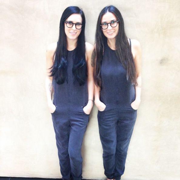 Demi Moore i jej najstarsza córka Rumer