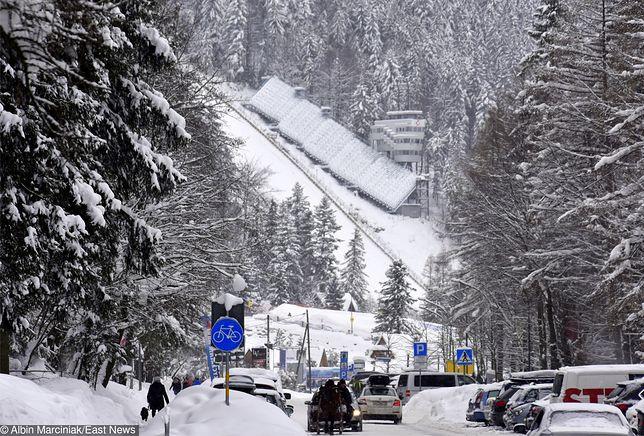 Pogoda Zakopane - 20 stycznia z niewielkim mrozem. Skoki narciarskie pod znakiem wiatru.