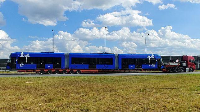 Transport krakowskiego tramwaju.