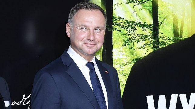 Andrzej Duda zachwycił się filmem o Stefanie Wyszyńskim