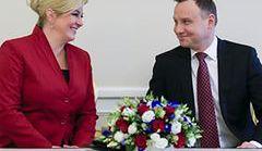 Kolinda Grabar-Kitarović z wizytą w Polsce