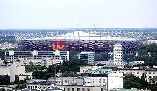 """Będzie kolejny """"basen"""" na PGE Narodowym? Otwarty dach na meczu Polska-Gibraltar"""