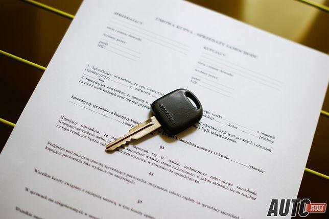Umowa kupna sprzedaży będzie potrzebna do rozliczenia z fiskusem