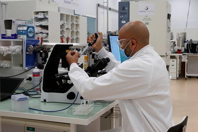 Koronawirus. Nowe informacje ws. szczepionki Sanofi