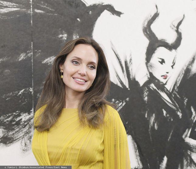 Angelina Jolie wraca do formy. Promieniała podczas promocji filmu