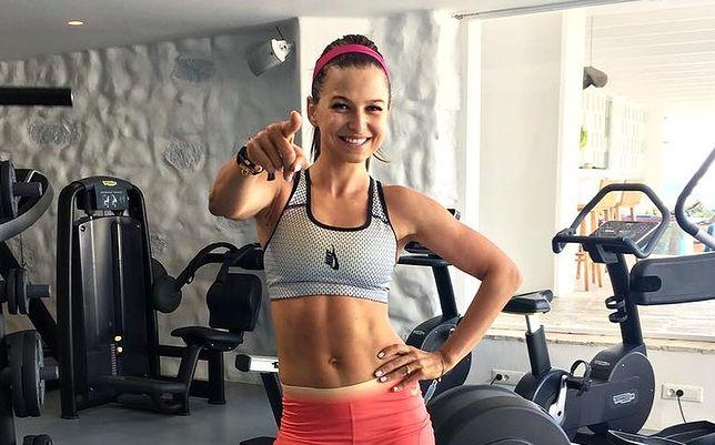 Lewandowska trenuje z córką