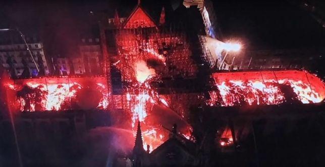Notre Dame z lotu ptaka