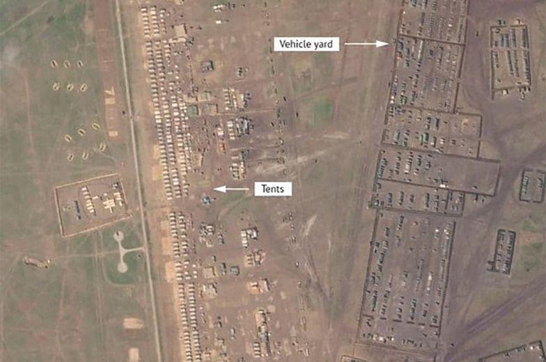 """""""Największe whistorii Rosji"""". Niepokojące, nowe zdjęcia satelitarne z Krymu"""