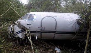 Jeden z pilotów zmarł na miejscu