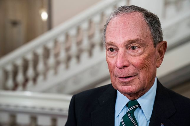 Michael Bloomberg, były burmistrz Nowego Jorku