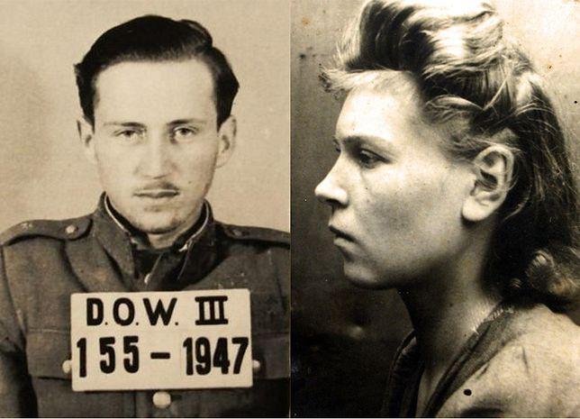 Ppor. Jerzy Przerwa i Zofia Rojuk