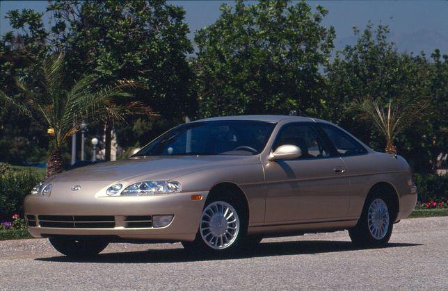 Ewolucja samochodów coupe Lexusa