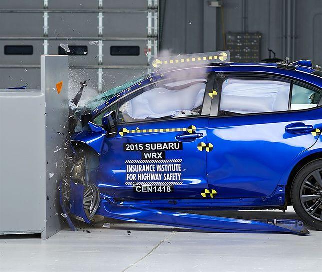 Subaru WRX - małe samochody