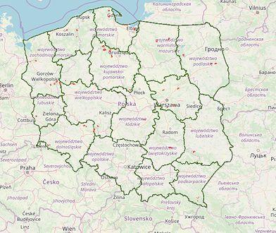 Tereny, na których można legalnie biwakować znajdują się w kilkunastu województwach