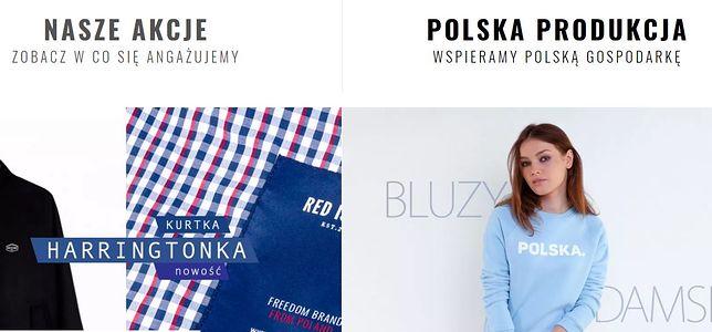 Wpadka sklepu z odzieżą patriotyczną. Dane klientów w sieci