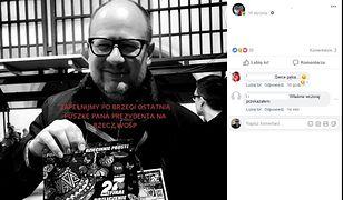 """""""Ostatnia puszka prezydenta Adamowicza"""". Zebrano już ponad 700 tys. zł"""