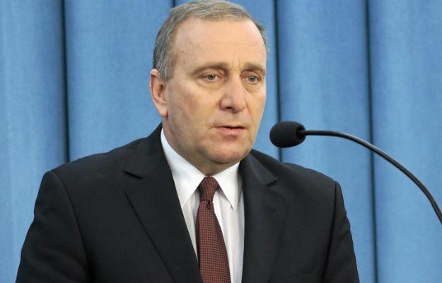 Grzegorz Schetyna, przewodniczący PO