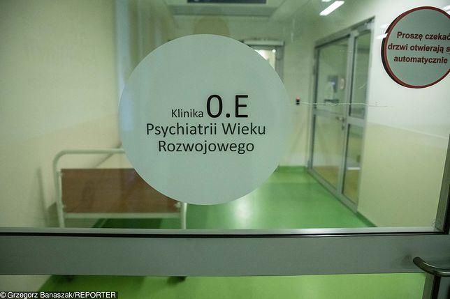 Oddział psychiatryczny dla dzieci w Warszawie